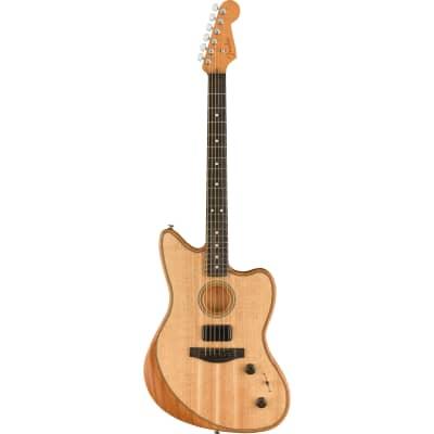 Fender American Acoustasonic Jazzmaster Acoustic-Electric Guitar - Natural - Display Model