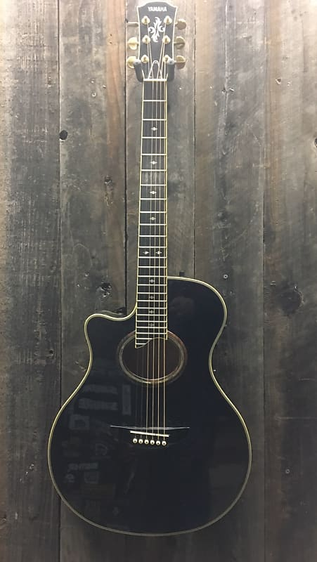 Yamaha APX500II Thinline Acoustic/Electric Guitar Black on