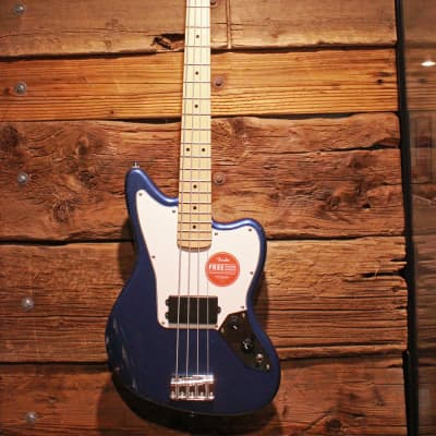 Squier Affinity Series Jaguar Bass H Electric Bass, Lake Placid Blue - Free shipping lower USA!