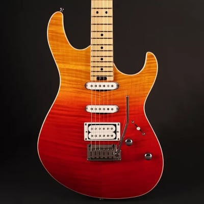 Cort G280DXJSS G Series Double Cutaway Solid Body 6 String Electric Guitar - Java Sunset for sale