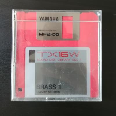Yamaha  Yamaha TX16W Sound Disk Library Brass