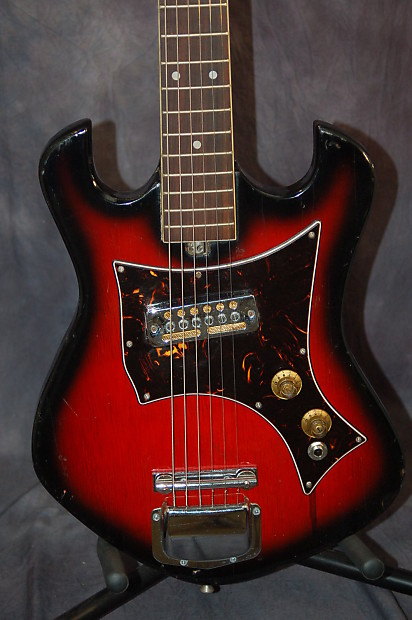 teisco del ray e 305 solid body ry cooder pickup pro setup reverb. Black Bedroom Furniture Sets. Home Design Ideas