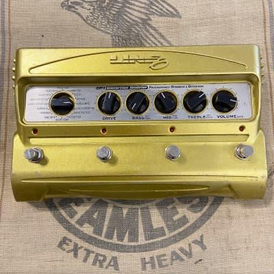 Used Line 6 DM4 Distortion Modeler Guitar Effect Pedal DM-4 Yellow