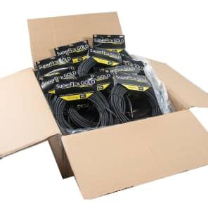 SuperFlex GOLD SFM-50 Premium XLR Cables - 50' (20-Pack)