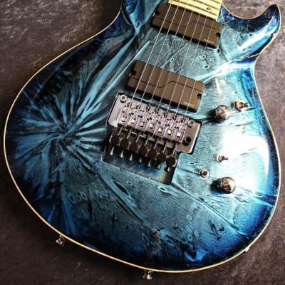 G-Life Guitars G-Phoenix Custom Ⅶ Stardust Blue Moon [7 string][Made in Japan][IKE011] for sale