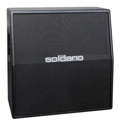 SOLDANO SLANT 4X12 GUITAR AMPLIFIER CABINET - CELESTION V30 for sale
