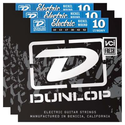 Dunlop DEN1052 Electric Guitar String Bundle - 10-52