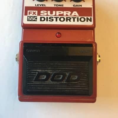 DOD Digitech FX55C Supra Distortion Guitar Effect Pedal