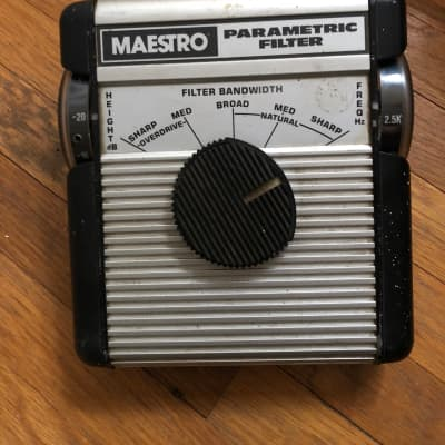 Maestro Parametric Filter - Stevie Ray Vaughn signed 1970s for sale