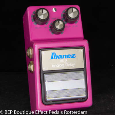 Ibanez AD-9 Analog Delay 1982 Japan s/n 282936, MN3205 chip and JRC4558D op amp