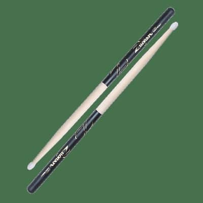 Zildjian Z5BND 5B Nylon Tip Black DIP (Pair) Drum Sticks