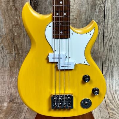Reverend Wattplower Mike Watt Signature Bass Satin Yellow for sale