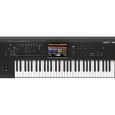 Korg Kronos 2 61-Key Synthesizer Workstation Keyboard - Used