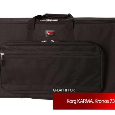 Gator Cases Keyboard EPS Foam Case for Korg KARMA, Kronos 73, Kronos X 73