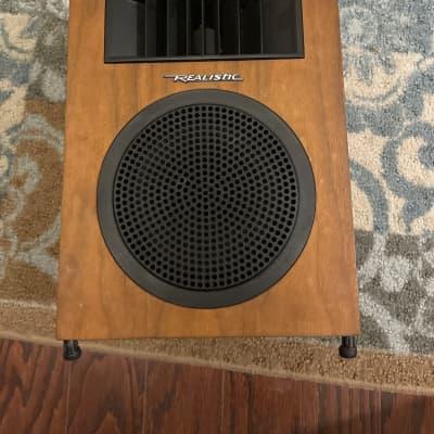 Vintage  Realistic Minimus Speaker Model No. 40-255A 8 Ohms. Rare 1125 7a7