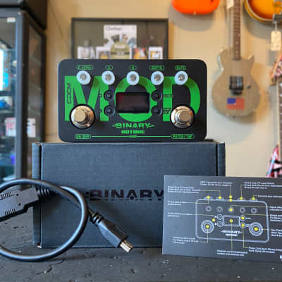 Hotone Binary MOD Modulation Electric Guitar Effects Pedal for sale