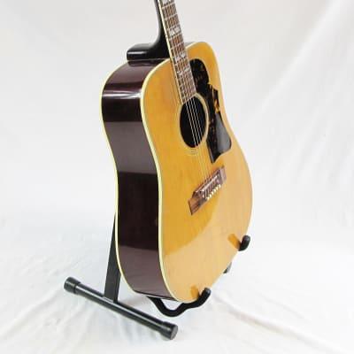 Dixon 681 Acoustic Guitar 70s W/ Chip Case for sale