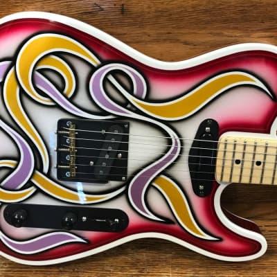 Nick Perri Ink guitars Shakespeare Telecaster Bobby Bordeaux French Kiss customs for sale