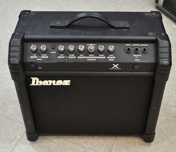 ibanez tbx30r tone blaster x guitar combo amp amplifier 30w reverb. Black Bedroom Furniture Sets. Home Design Ideas