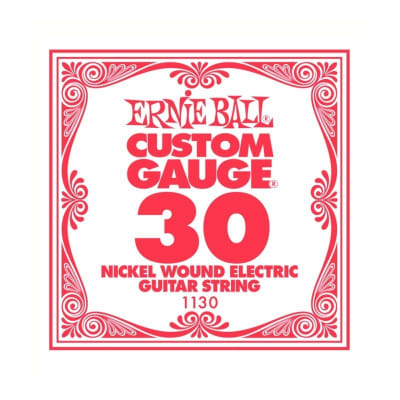 Ernie Ball Nickel Wound Single String 030