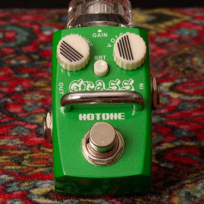 Hotone Skyline Series Stompbox: GRASS OVERDRIVE for sale
