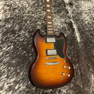 Epiphone SG G-400 Deluxe Flametop / Upgraded Wiring for sale