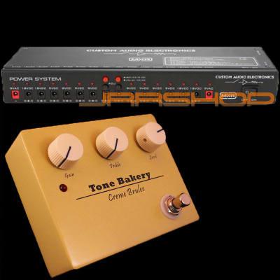MXR MC403 Power System + Tone Bakery Creme Brulee Pedal Combo