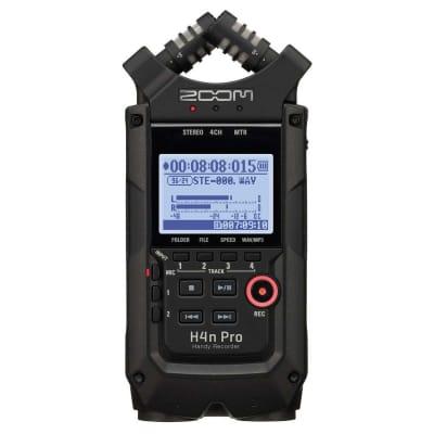 Zoom H4N Pro Handy Digital Recorder (Black Edition)