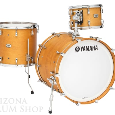 Yamaha Absolute Hybrid Maple 3pc. Drum Shell Pack VINTAGE NATURAL 13/16/22x14 NEW