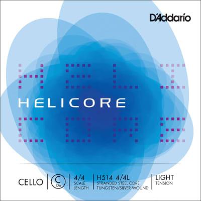 D'Addario H514 4/4L Helicore 4/4 Cello String - C (Light)
