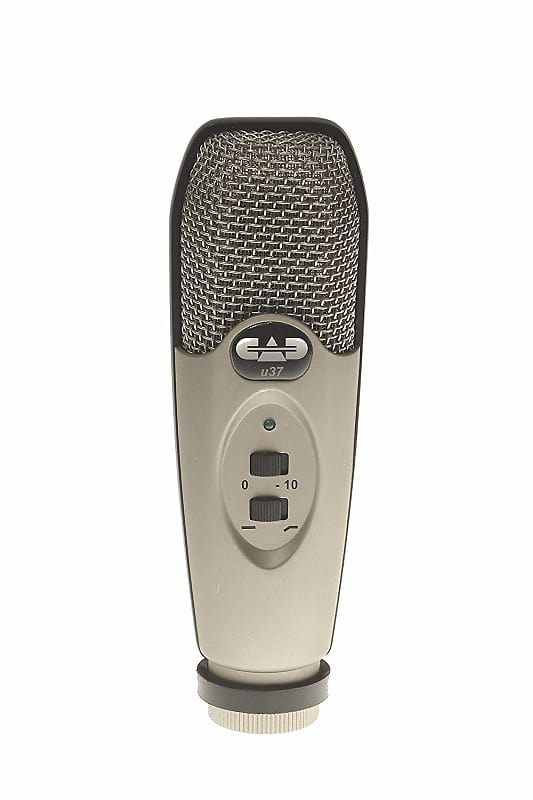 cad u37 usb studio condenser recording microphone with 10 db reverb. Black Bedroom Furniture Sets. Home Design Ideas