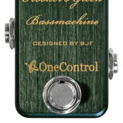 ONE CONTROL Hooker's Green Bass Machine - Bass Overdrive / Distortion