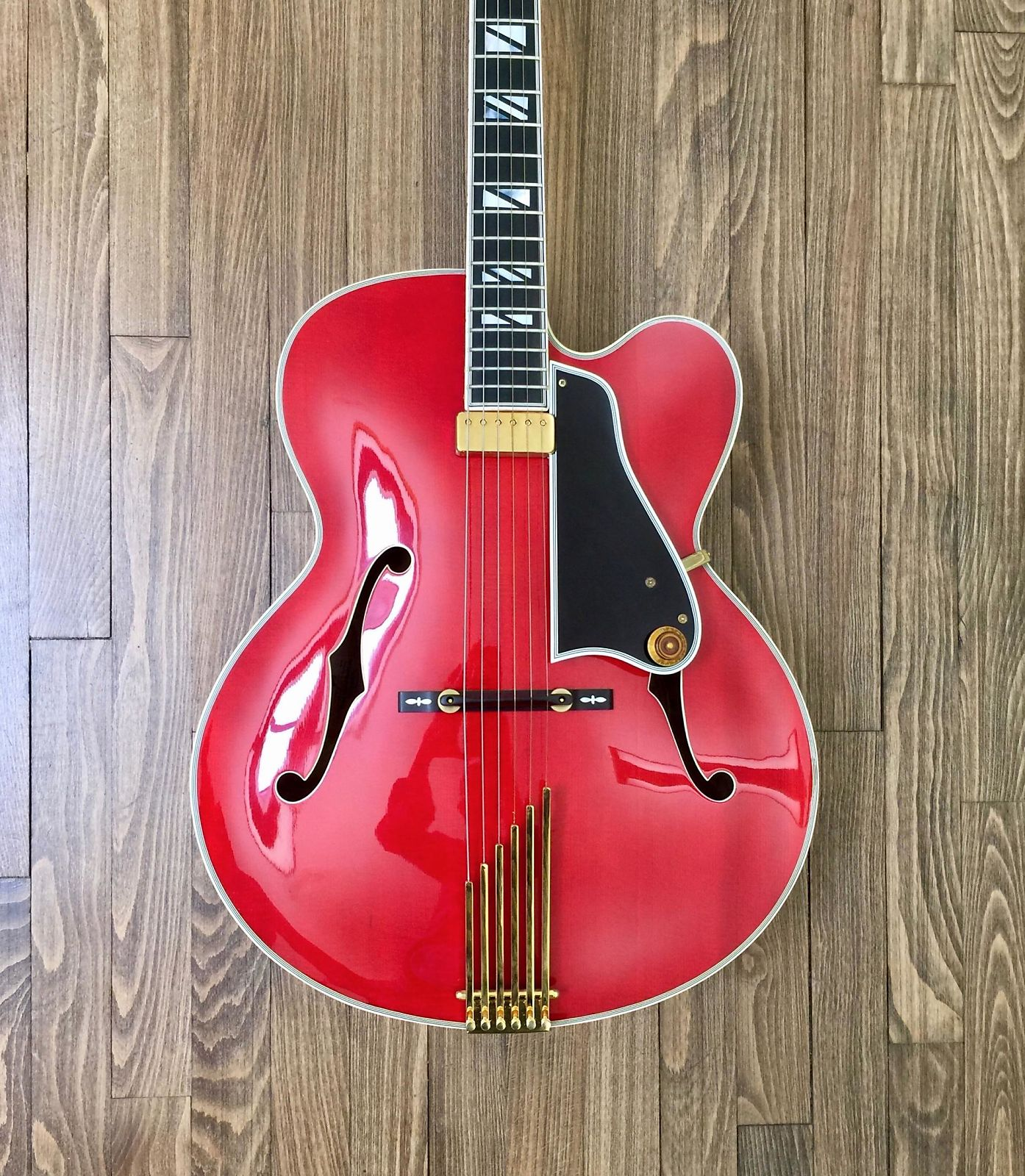 1991 Gibson Johnny Smith Custom Shop Special Red