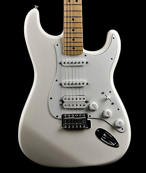 fender standard stratocaster hss 2008 white price guide reverb. Black Bedroom Furniture Sets. Home Design Ideas