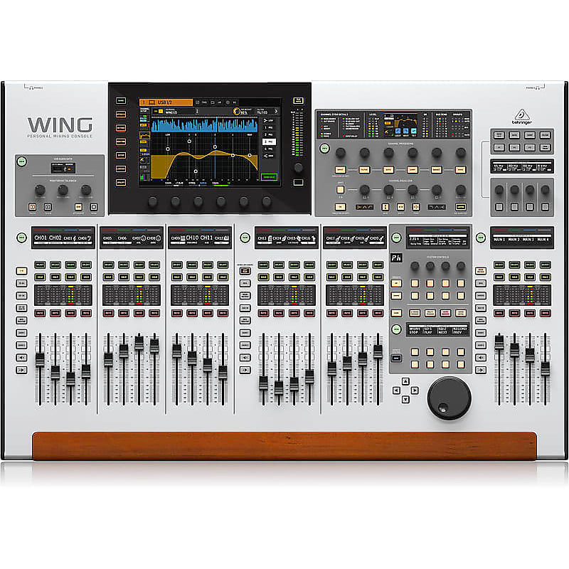 Behringer WING 48-Channel, 28-Bus Digital Mixing Console