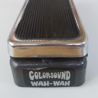 Colorsound Sola Sound Wah - London for sale