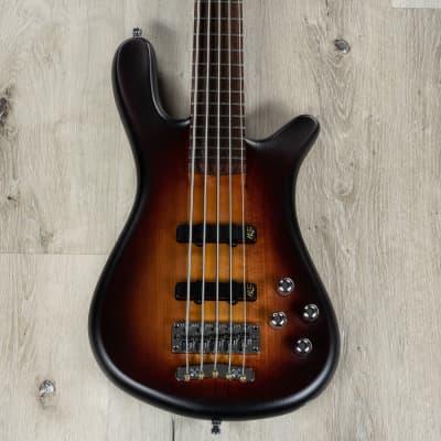 Warwick Teambuilt Pro Series Streamer Stage I Bass, 5-String, Vintage Sunburst for sale