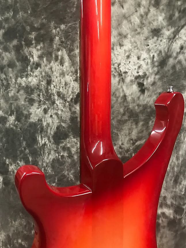 Rickenbacker Model 4003S (No Binding) Solid Electric Bass - Fire Glo 2017