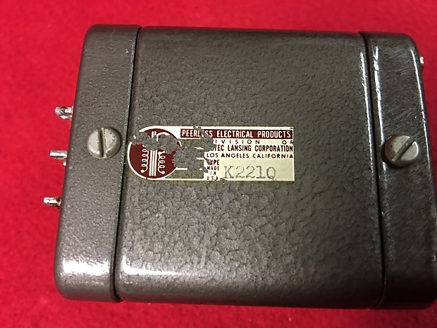 Peerless Audio Output Transformer S-225-Q used in Tube Single-Ended or  Push-Pull amplifiers