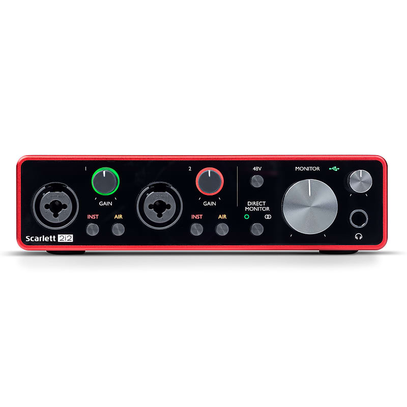 focusrite scarlett 2i2 usb audio interface 3rd gen reverb. Black Bedroom Furniture Sets. Home Design Ideas