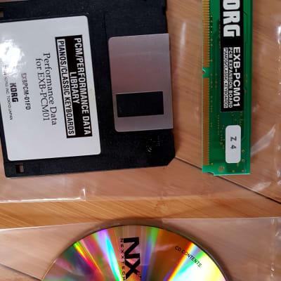 Korg EXB-PCM01 Pianos & Classic Keys Complete Set !