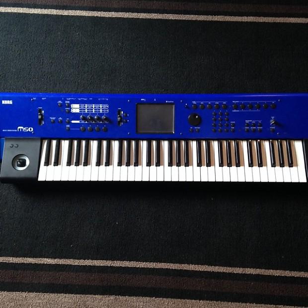 Korg M50 Rare Limited Blue | Chesapeake Effects