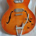 NIB Xaviere XV 910 (ES335 Copy) with X-Trem Tremolo- Vintage Amber