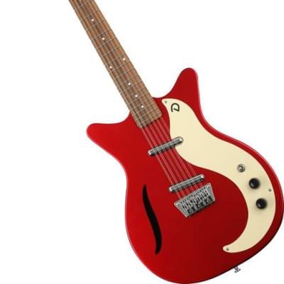 Danelectro '59 Vintage 12 String Electric Guitar - Metallic Red