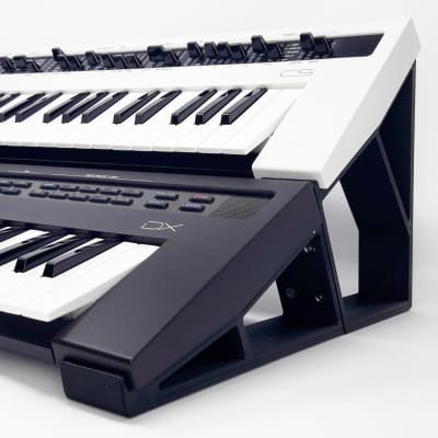 3DWaves Dual Tier Stands For The Yamaha Reface Synthesizers v2 CS, DX, CP, and YC