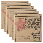 Gabriel Tenorio JM46 Electric Guitar Strings 10-46 (6 Pack Bundle) image