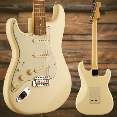 Fender American Original '60s Stratocaster Left-Hand, Rosewood Fb, Olympic White for sale