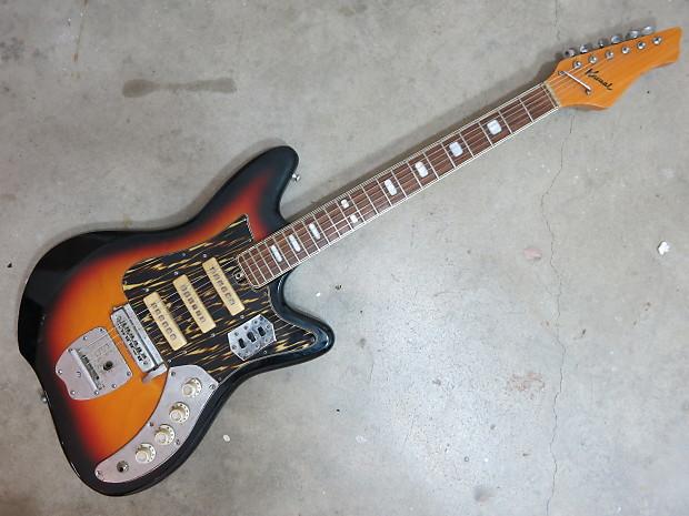 vintage 1960s kawai teisco 3 pick up electric guitar sunburst reverb. Black Bedroom Furniture Sets. Home Design Ideas