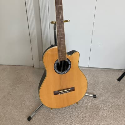 Applause by Ovation AN13 3/4-sized Nylon String Acoustic Guitar w gig bag for sale