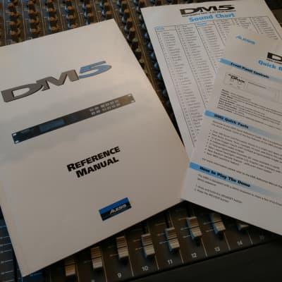 Alesis DM 5 Original Reference Manual.